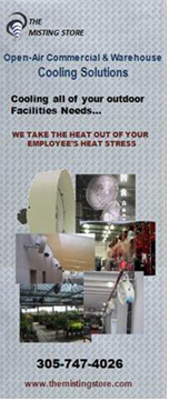 Commercial and Warehouse Cooling Systems – The Misting Stoe
